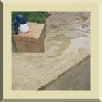 Protection pour terre crue