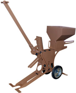 Manumeco, Presse à Briques de terre compressée manuelle monoformat